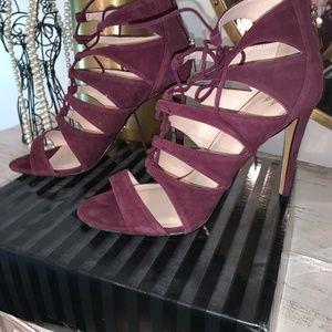 Victoria Secret Purple/Wine high heel sandal